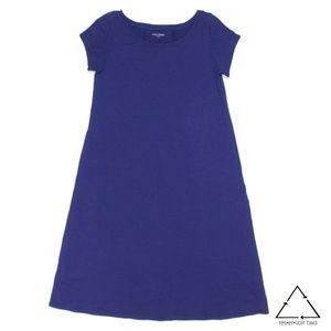 Eileen Fisher Cap Sleeve T Shirt Dress Organic